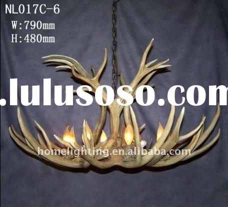 how to make antler chandelier instructions