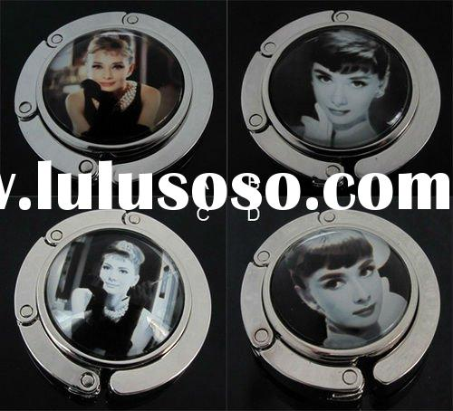 Audrey Hepburn glass purse hook Bag Hanger