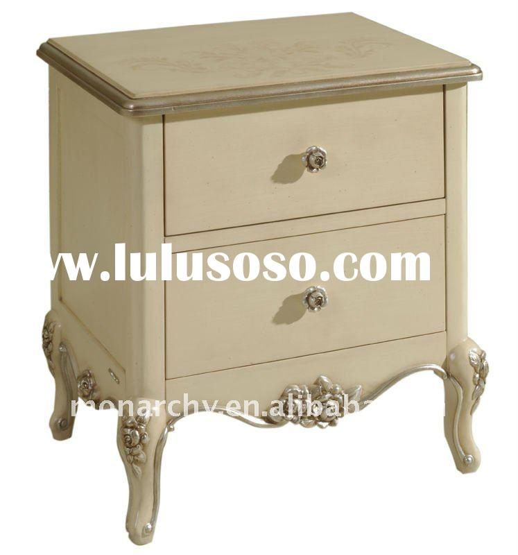 BW502-27 excellent 2011antique french style hand carving bedroom furniture antique night stand