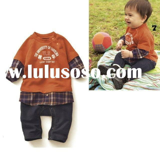 clothing kid clothes material cotton color boy baby styel girl baby ...