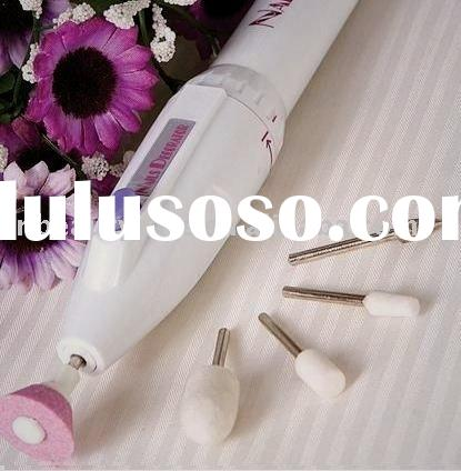 Battery Mini Manicure Pedicure Drill File Nail Art Machine