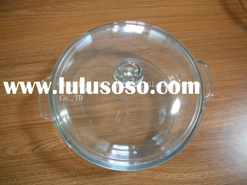 Borosilicate glass casserole with lid(ovenware)