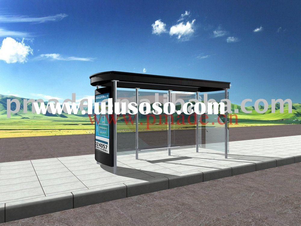 Bus Stop Advertising Shelters
