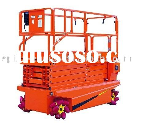 CE electric scissor lift / Terrain Scissor Lifts JCPT1013/1213