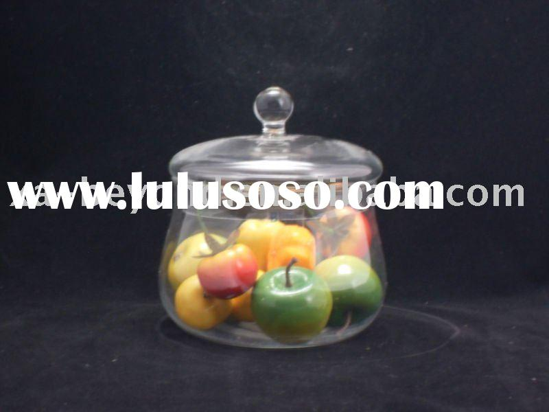 Clear glass canister with high quality and preferential price