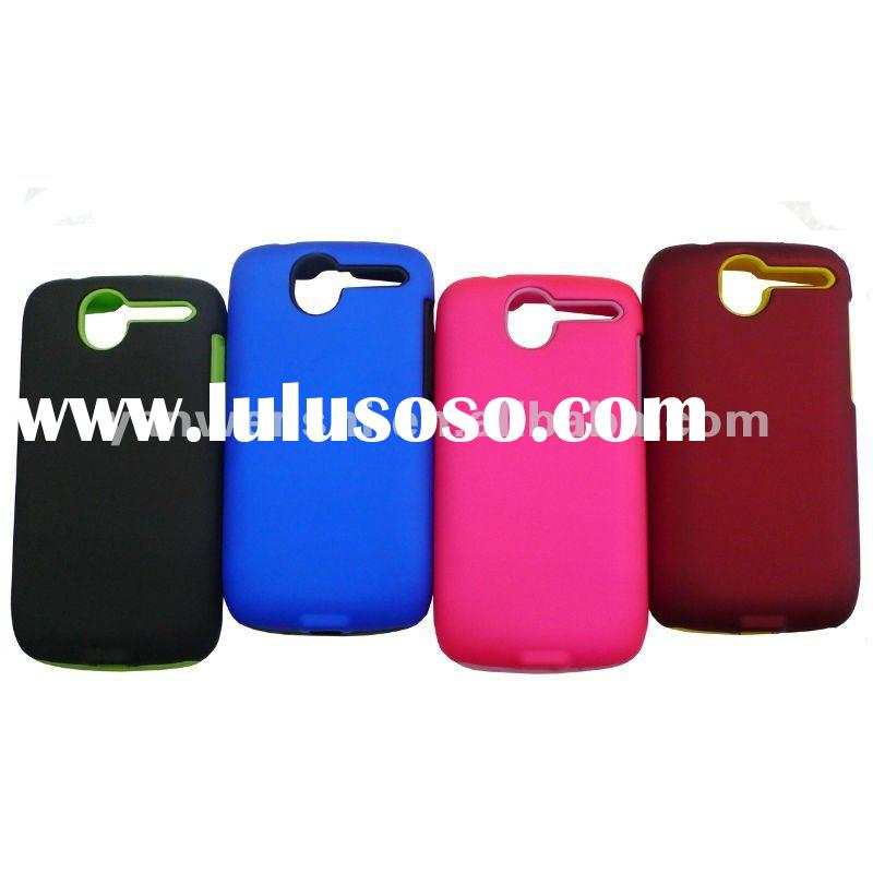 Combo Cell Phone Cover for HTC Desire(the best combination of silicone case and crystal cover)