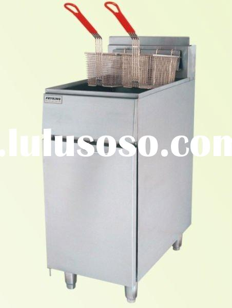 Commercial gas deep fryer