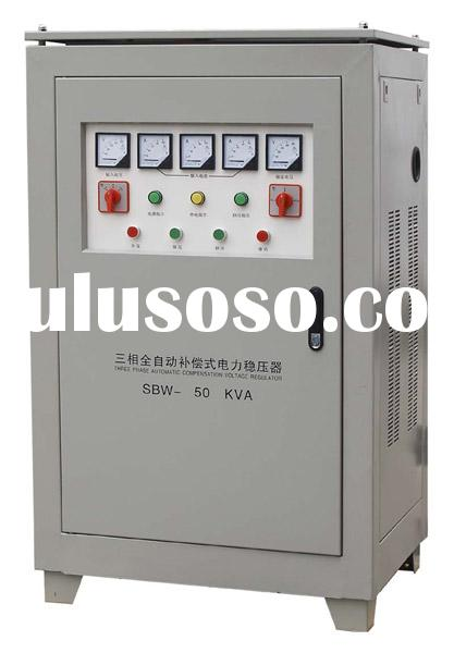DBW and SBW Single-Phase and Three-Phase High-Power Voltage Regulator