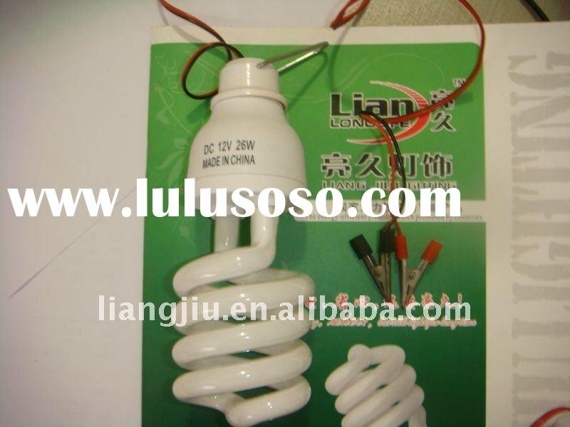 DC 12V energy saving lamp, 5W, 7W, 9W, 11W, 26W