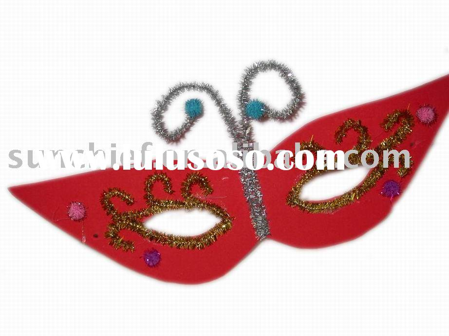 DIY EVA FOAM CRAFT, DIY FOAM PARTY MASK, DIY CRAFT KIT,EVA FOAM CRAFT,EVA HANDICRAFT,PROMOTIONAL GIF