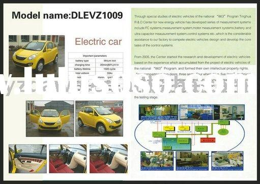 DLEVZ1009 smart two seaters electric car with lithium battery,fast charging system