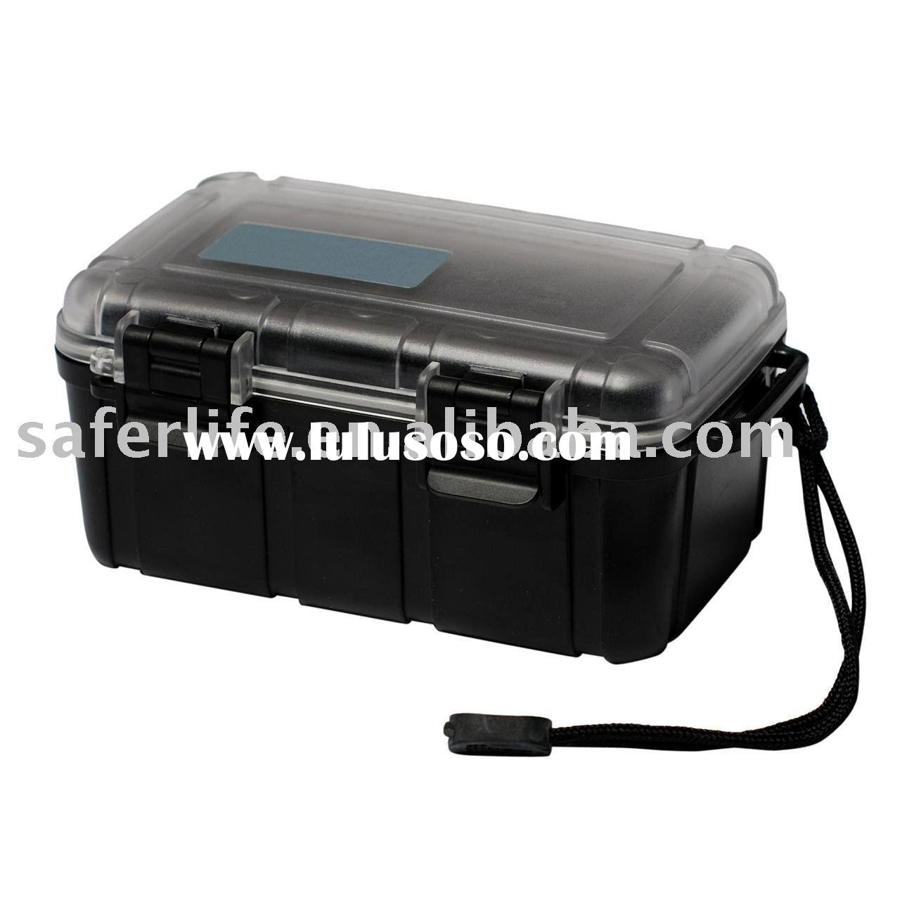 Delux waterproof box Camping box Promotional imprinted WATCH BOX tool box Outdoor tool box