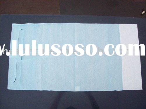 Disposable Adult Bibs 1. 1ply/2ply tissue+1 ply PE film material 2.