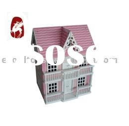 Dolls' House(wooden toy house,diy toy house,wooden house toy)