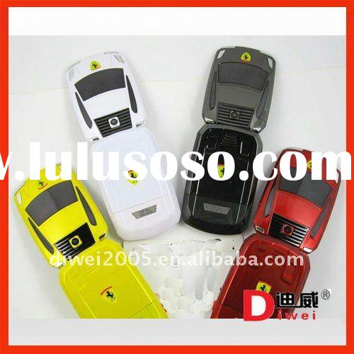 Dual sim card Car shape mobile phone V999