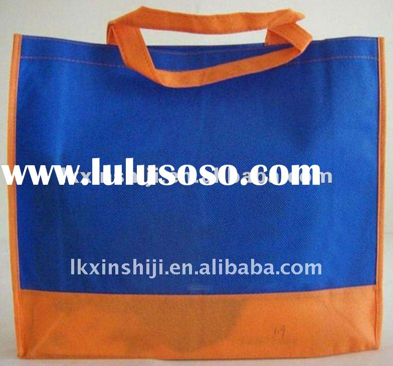 ECO-FRIENDLY!!! 2012 the newest non-woven shopping bag