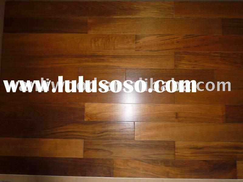 Engineered Burma teak flooring