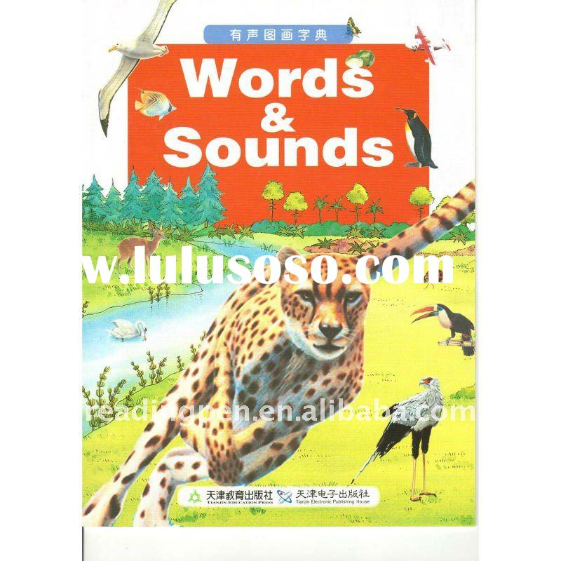 English words learning sounding book english story