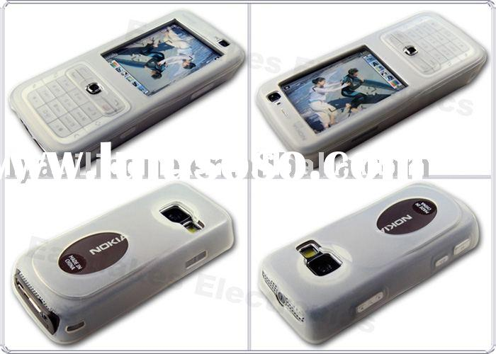 Engrave laser silicon case for Nokia N7 series