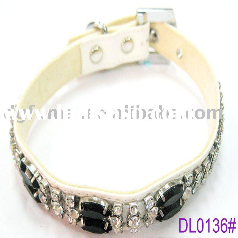 Fashion crystal dog collars