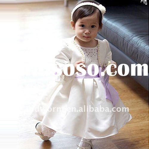 Fashion sleeveless baby frock