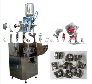 Full automatic pyramid tea bag packing machine, triangle tea bag packing machine
