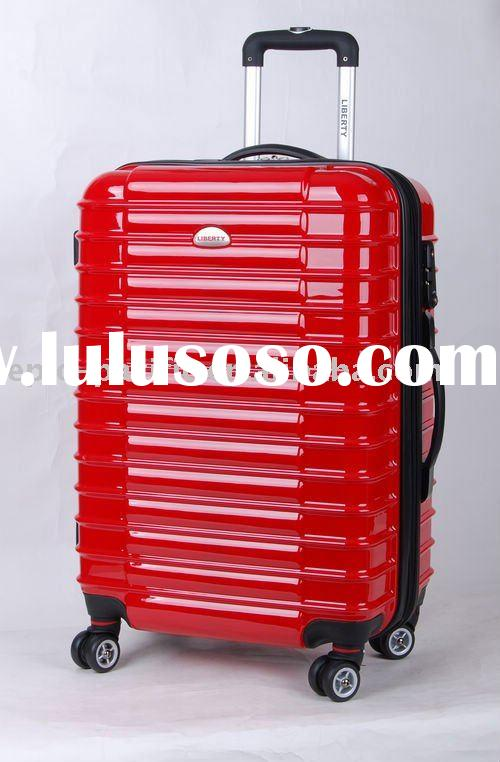 GM11054 Hard case ABS+PP colourful luggage travel trolley wheels bag