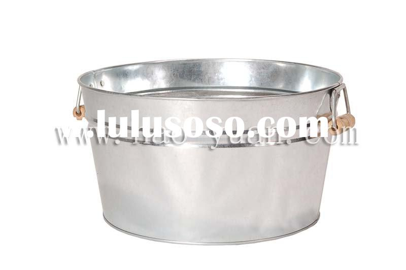 Galvanized Metal Tubs 17 litre(round)