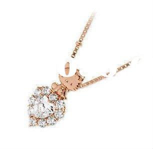 Gold plated Copper alloy hello kitty jewelry(A100787)