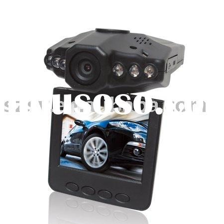 HD 720P Car Black Box, Driving Recorder, Car Digital video Recorder + 270 degree rotating + 2.5""