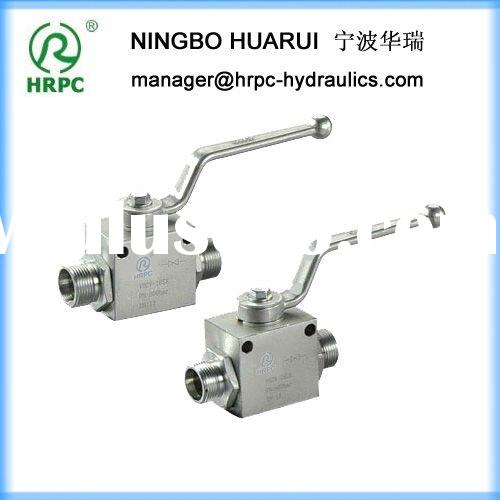 HRPC brand hydraulic italy ball valve with steel handle