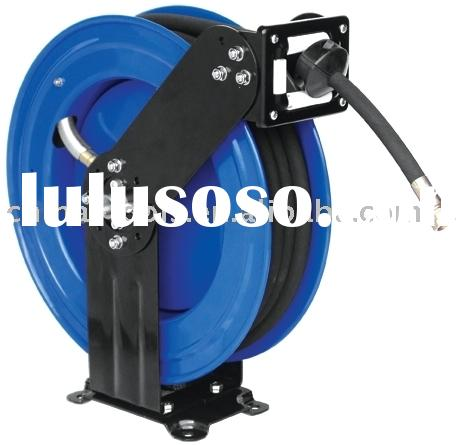 High pressure grease/hydraulic oil reel
