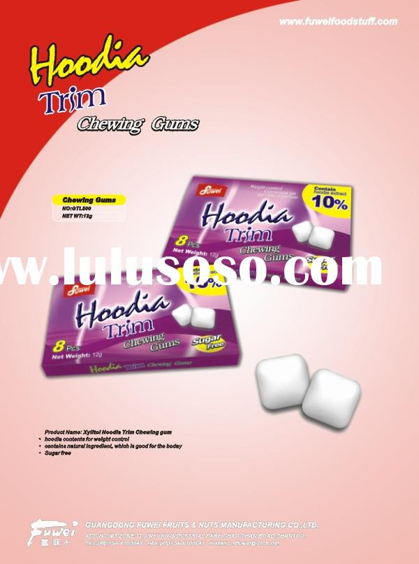 Hoodia Trim sugar free chewing gum