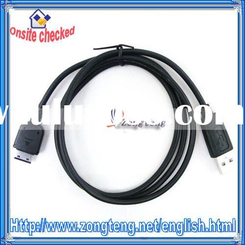 Hot !! USB Data Cable for Samsung U900 D880 M618 F708 P520 Black