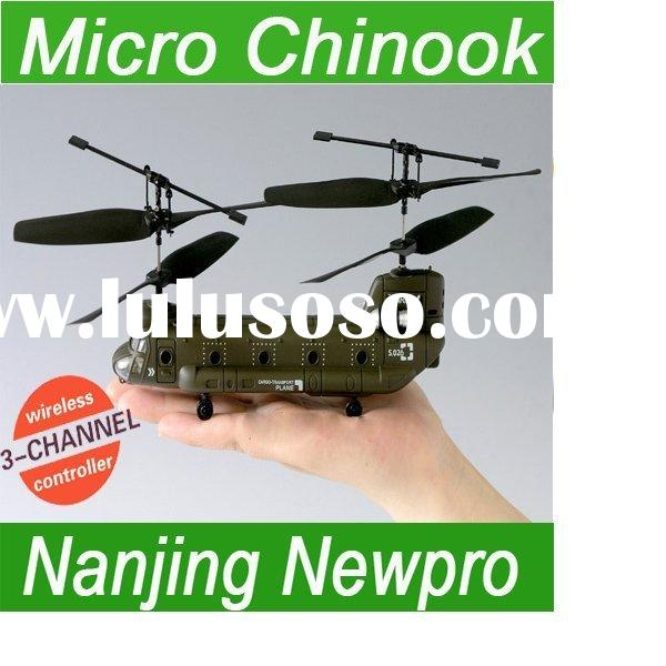 Hot sale 26cm 3ch RC Mini CHINOOK IR control transport Micro Helicopter LED lights syma s026 rc plan