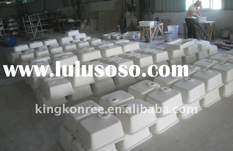 Hot sale corian acrylic solid surface sink