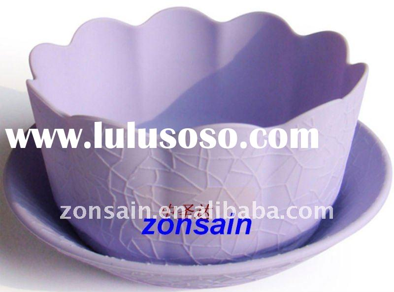 Household tableware plastic tea cup and saucer