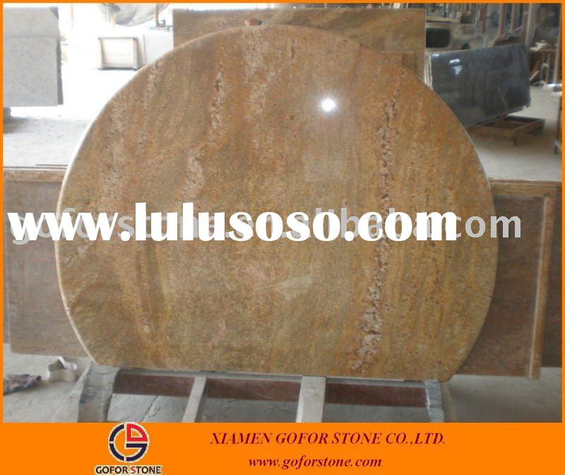 Imperial gold granite kitchen countertop table top