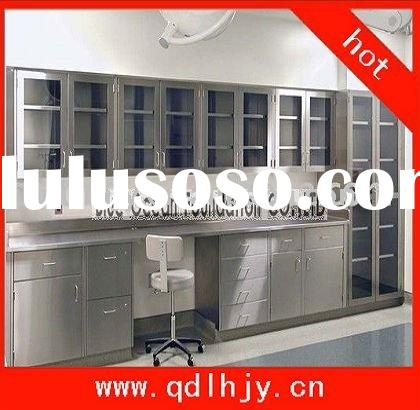 Island Bench Wall Cupboard Modular Stainless Steel Laboratory Furniture