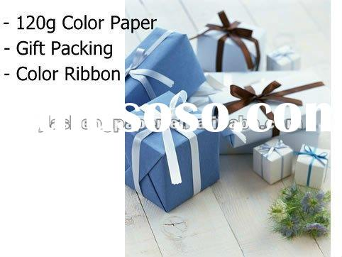 "JS 120g 31""*43"" Single Face Color Gift Wrapping Paper"