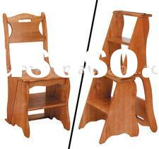 Merveilleux Wooden Step Stool Chair Plans