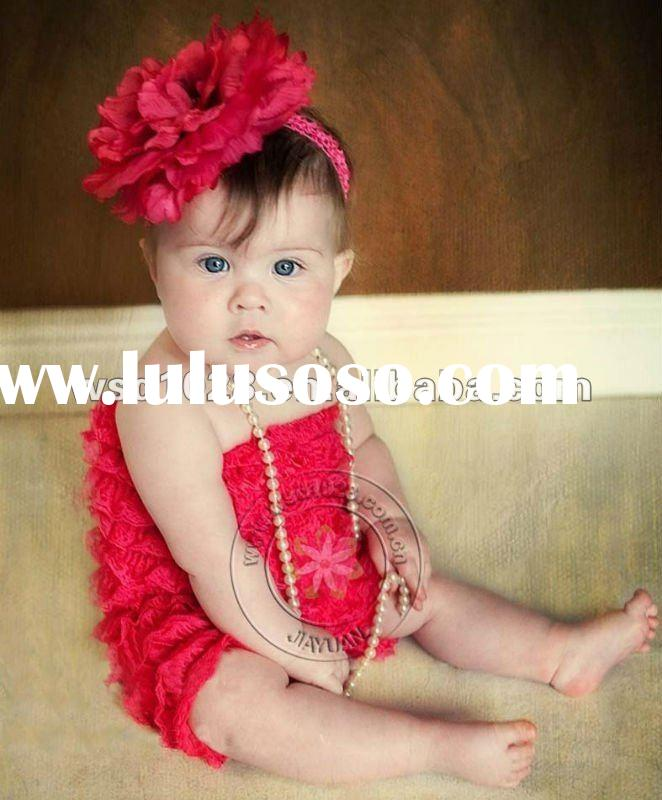 Lace baby romper wholesale