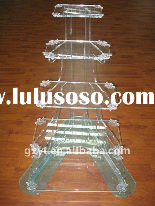 Ladder-shaped Acrylic Cake Stand/ Plexiglass Cake Display