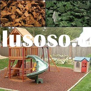 Landscape rubber mulch rubber mulch surfaces recycled rubber surfacing