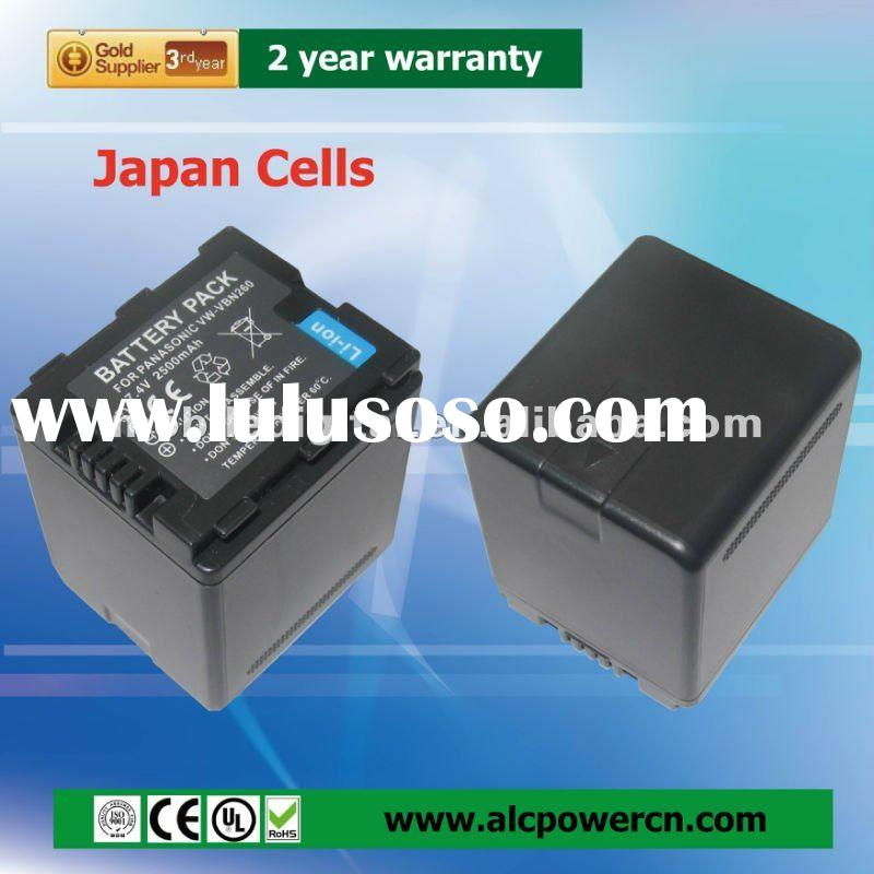 Lithium Battery Replacement for Panasonic VW-VBN260