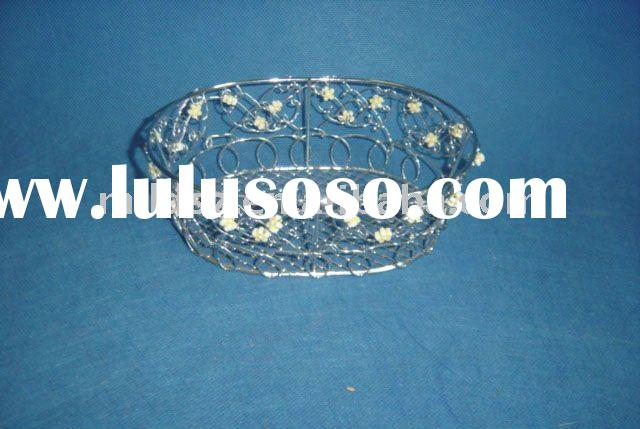 MD-1657 decorative wire basket/gift basket/gift and craft