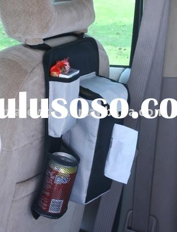 MWA-202 Car Fabric Back Seat Hanging Organizer with Tissue Holder