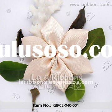 Make Satin Flowers Designs Of Ribbon Flowers Small Satin Ribbon Flowers