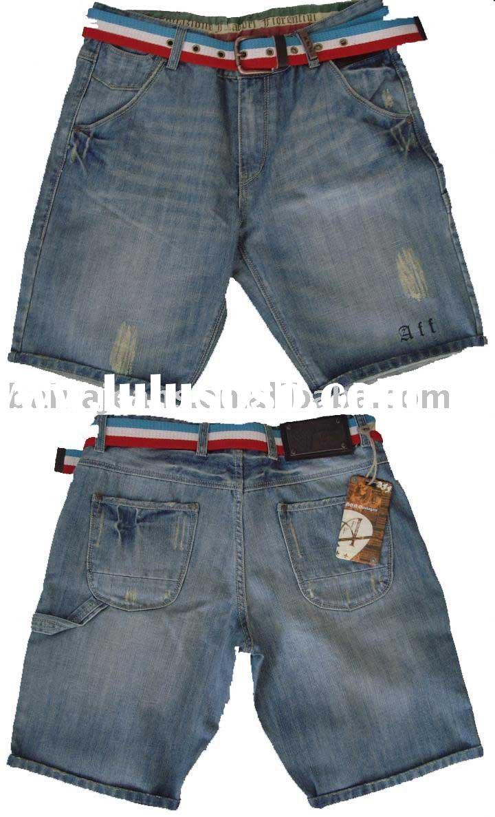 Men's Short Denim Jeans