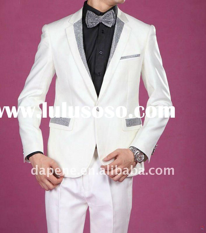 Men 39s White Wedding Suits Our factory owns a series of professional